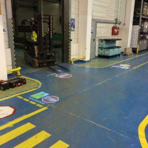 Podlahovou projekcí za vyšší bezpečnost
